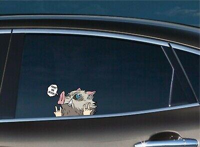 Demon Slayer Nezuko Car Window Decal