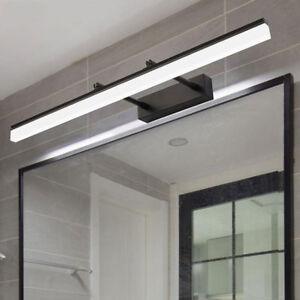 Industrial Black LED vanity lights Modern LED Picture ...