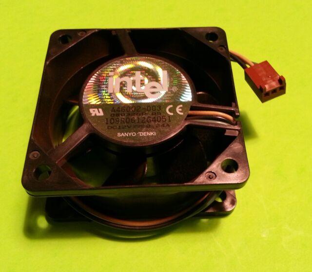 New Intel A46002-002 Sanyo Denki 109R0612G4031 12VDC 0.24A 60mm 3-pin CPU FAN