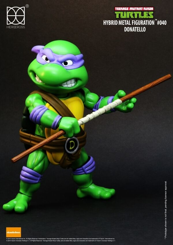 Herocross -  Teenage Mutant Ninja Turtles Hybrid Mettuttio azionefigur - Donatello  spedizione gratuita