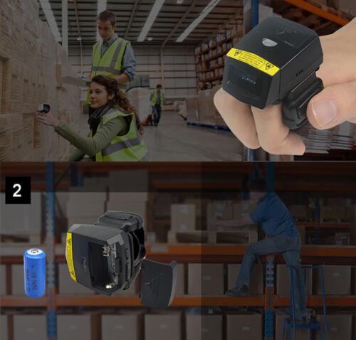 Finger 2D FS02Barcode Scanner MINI Bluetooth Bar code Reader for Andriod// IOS
