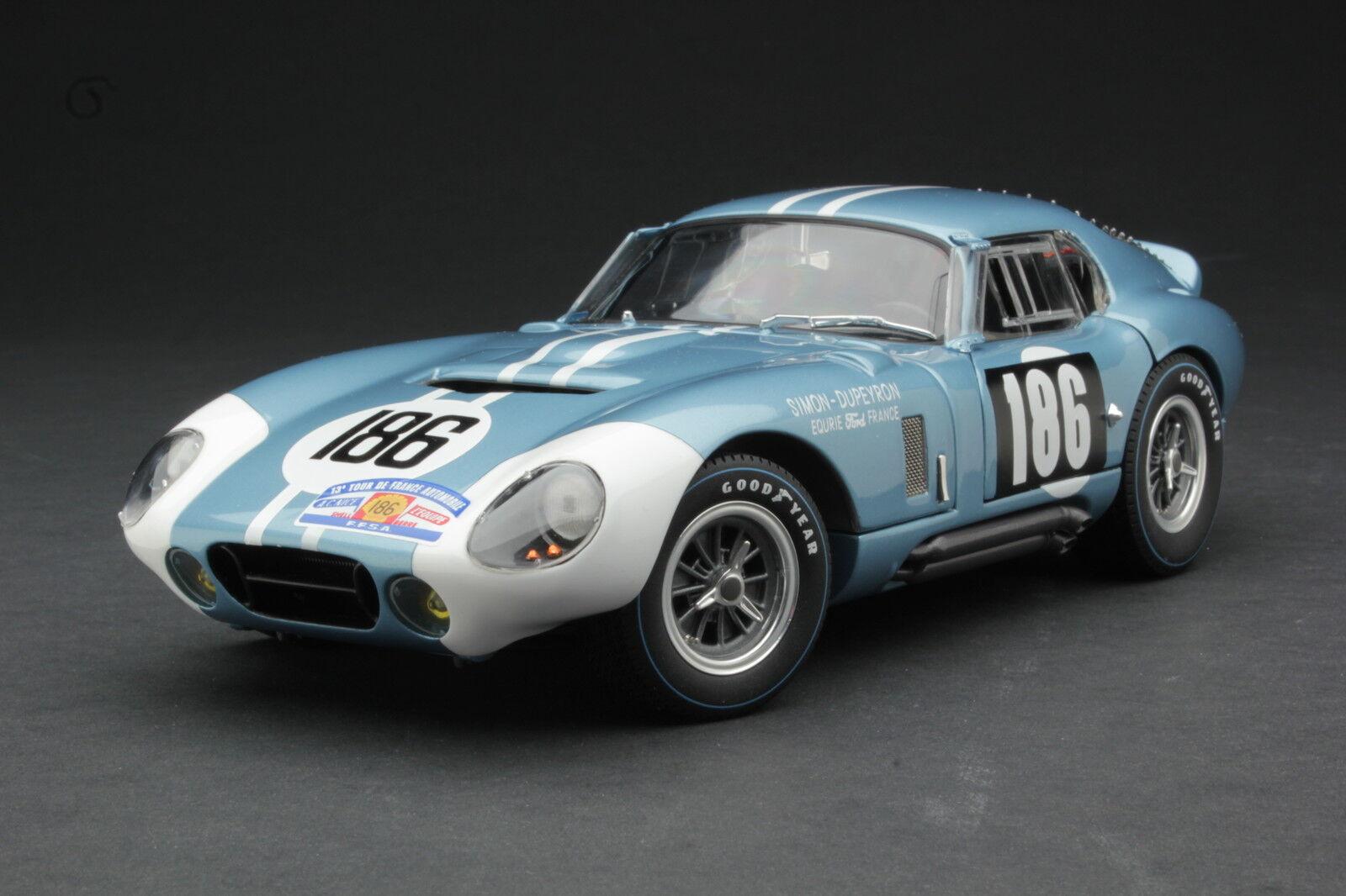tienda de descuento Exoto Exoto Exoto 1964 Cobra Daytona Coupé Tdf   Tour de France   Escala 1 18    RLG18016B  encuentra tu favorito aquí