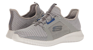 Sneakers 52640 / gybl elite flex mn (m), grau - blaue sportschuhe.