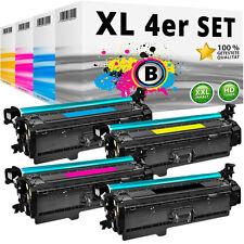 4x TONER für HP 201X 201A Color LaserJet Pro M252dw M252n MFP M274n M277dw M277n