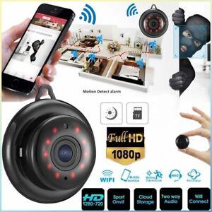 network camera HD 1080P IP WIFI wireless spy CAM 140 degrees video Recorder DVR