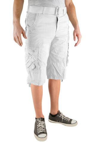 Men/'s Military Style Multi-Pocket Cargo Shorts Short Pants Sizes 32-50 NWT