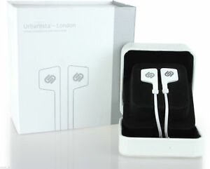 Urbanista-London-In-Ear-Stereo-Headphones-With-Hands-Free-Microphone-White-New