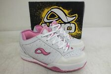 Adio Quality Footwear Kenny Anderson White/Pink Skateboarding Shoes 3/34 NEW