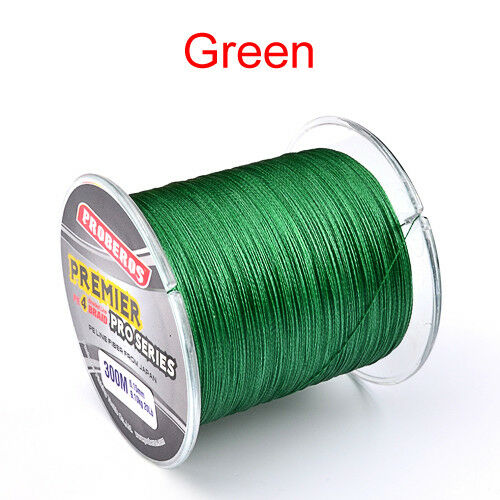 300M 4 Stands PE Braided Extreme Super Strong Dyneema Spectra Sea Fishing Line