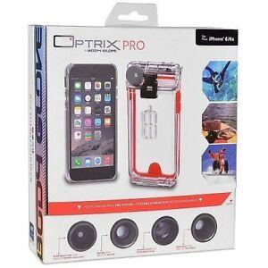 more photos 574c5 0da04 Details about Body Glove Optrix Pro iPhone 6 ONLY Waterproof Case &  Interchangeable Lens Kit