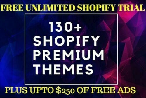 130 Shopify ecommerce Premium Themes and Free Store Unlimited Trial