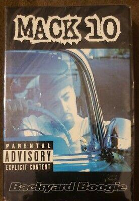 MACK 10 Backyard Boogie *Ant Banks Gangsta Single Cassette ...