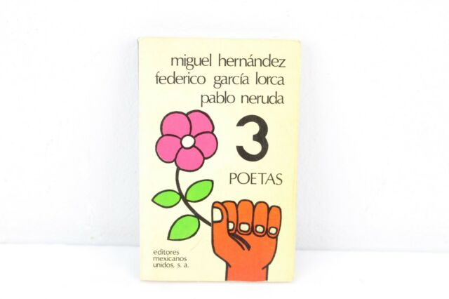 Tres poetas Colección Poesía Spanish Edition Paperback Lorca Neruda 1979