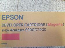 Toner Epson Aculaser Magenta Red Rosso Originale Nuovo New Epson c900/c1900