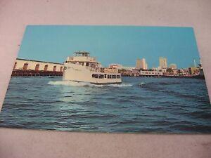 Vintage-Postcard-Harbor-Excursion-Ship-Boat-Cabrillo-San-Diego-California