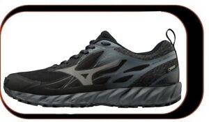 Chaussures-De-course-Running-Mizuno-Wave-IBUKI-Homme-Noir-GTX-Reference-J1GJ1