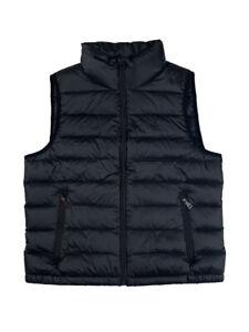 Ralph Lauren Polo Mens Pony Logo Down Puffer Vest Black ...