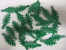 NEW Lego x25 Pieces 6148 PALM TREE LEAVES Leaf Bulk Lot Greenery Foliage Pirate