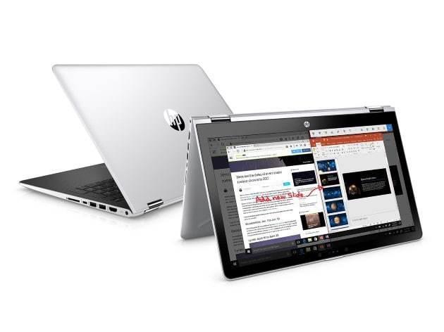 "HP Pavilion 15 6'"" 2-in-1 FHD ( Intel Core i5-7200U 8GB DDR4 SDRAM 128 GB  SSD Stylus Windows 10 AMD Radeon 530) Laptop - Silver"