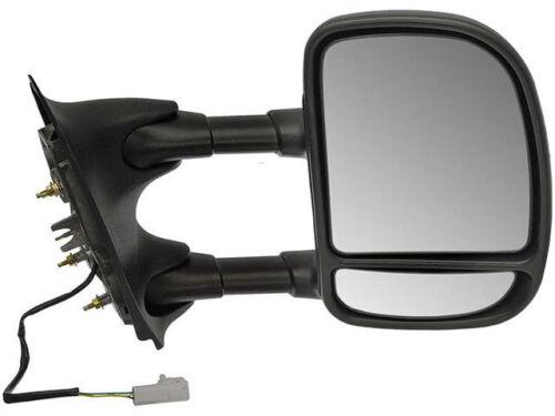 Round Plug Power Door Mirror Fits OE# YC3Z 17682-FAA Passenger Side