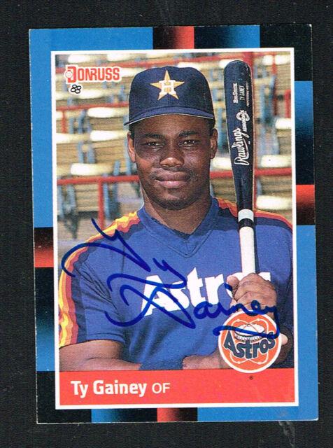 1988 Donruss Baseball Card 578 Ty Gainey