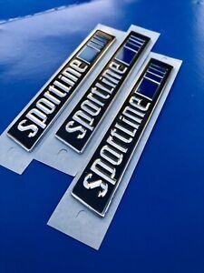 3 Logos Sportline mercedes W201 W124 Sportline Badge A2018171320 Cla Gla CLS G