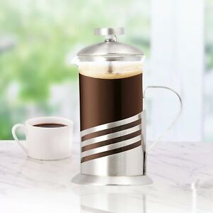 Single-Cup-French-Press-11-Oz-Coffee-amp-Tea-Maker-Wave-Design