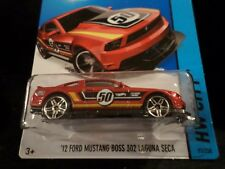 HW HOT WHEELS 2014 HW CITY #91 12 FORD MUSTANG BOSS 302 LAGUNA SECA HOTWHEELS