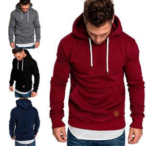Men-Gym-Sports-Hooded-Sweat-Hoodies-Pullover-Sweatshirt-Jacket-Coat-Sweater-Top