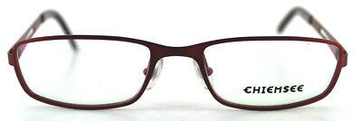 100% Wahr Chiemsee Brille/ Glasses Mod. 304 C1 Rot Und Ein Langes Leben Haben.