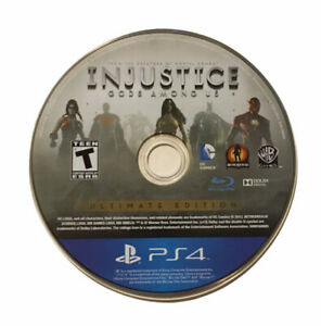 Injustice Gods Among Us Ultimate Edition PS4 Disc Only - Tested & Working