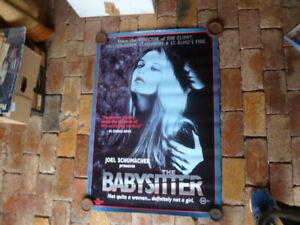 JOEL-SCHUMACHER-039-S-THE-BABYSITTER-1-SHEET-MOVIE-POSTER-AUST-EDITION