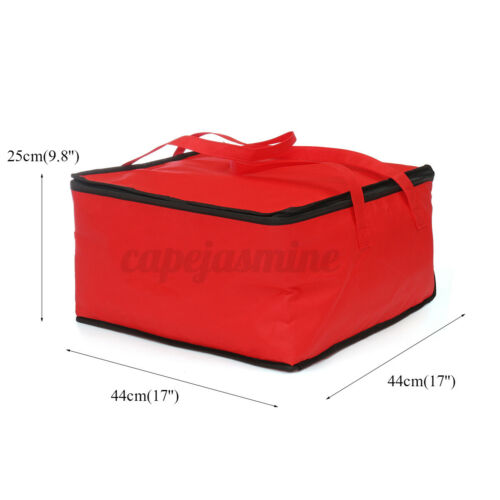 17/'/' Waterproof Handheld Delivery Food Pizza Delivery Bag Picnic Cloth Storage