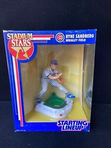 "Vtg ""NIB"" 1992 Starting Lineup Ryne Sandberg MLB Stadium Star Wrigley Field (Cub"