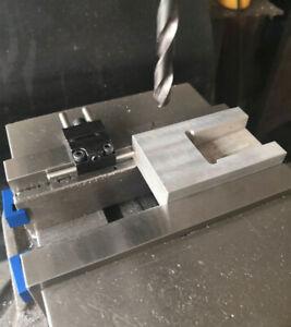 // Vise Jaw Stop bridgeport  CNC mill milling machine work endmill