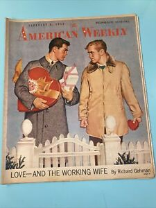 1958 February 3 The American Weekly Abraham Lincoln Inventor Lourdes France