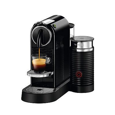 NEW Nespresso by Delonghi EN267BAE Citiz & Milk Capsule Coffee Machine: Black
