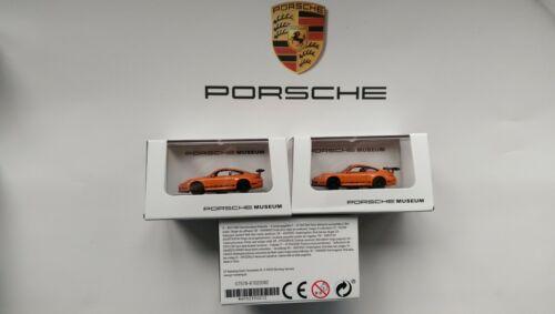 PORSCHE 911 991 GT3 RS S modello Porsche Museum//WELLY in miniatura