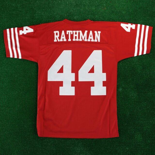 1a86981ddad Tom Rathman 1990 San Francisco 49ers Mitchell   Ness Throwback Jersey Men s