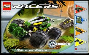 Lego-8469-Bauanleitung-Slammer-Raptor-RACERS-Nur-Bauanleitung