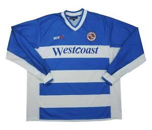 La LETTURA 2001-03 Authentic Home Shirt (eccellente) XL soccer jersey