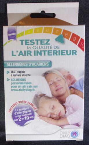 Daily Diag Mono Test Allergènes Acariens Test Qualité De l/'Air Intérieur