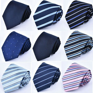 New-Men-Jacquard-Woven-Classic-Tie-Necktie-Party-Business-Meeting-Wedding-Ties