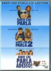 Senti chi parla Collection - Cofanetto 3 Dvd - Nuovo