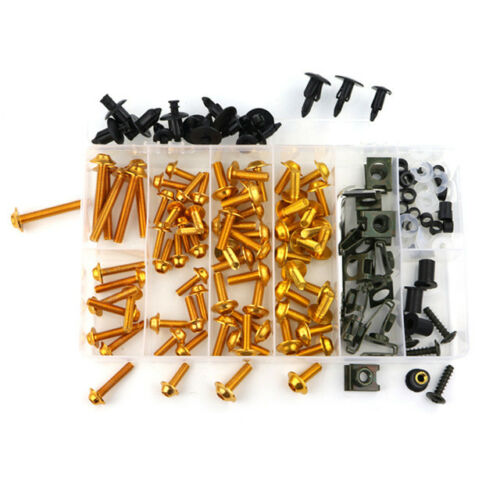 For KTM RC 200 RC 250 RC 390 1190 RC8 Complete Fairing Bolts Kit Body Screws