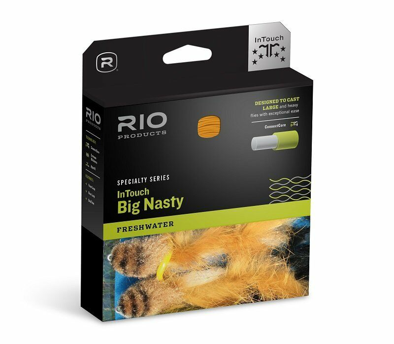 RIO INTOUCH gree NASTY WF-10-F    10 WEIGHT FORWARD FLOATING FLY LINE gratuito US SHIP 3b3