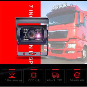 Coche-trasera-vista-reverso-18-LED-IR-Camara-de-marcha-atras-impermeable-vision-nocturna-034-12-24V