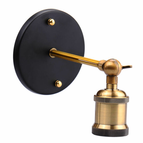 Retro Industrial Wall Light Sconce Lamp Brass Copper E27 Base Home Decoration UK