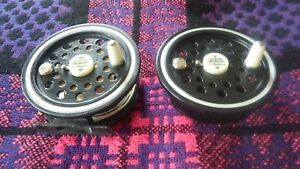 "PFLUEGER MEDALIST By SHAKESPEARE Salmon Fly Reel 4"" dia with new spare spool"