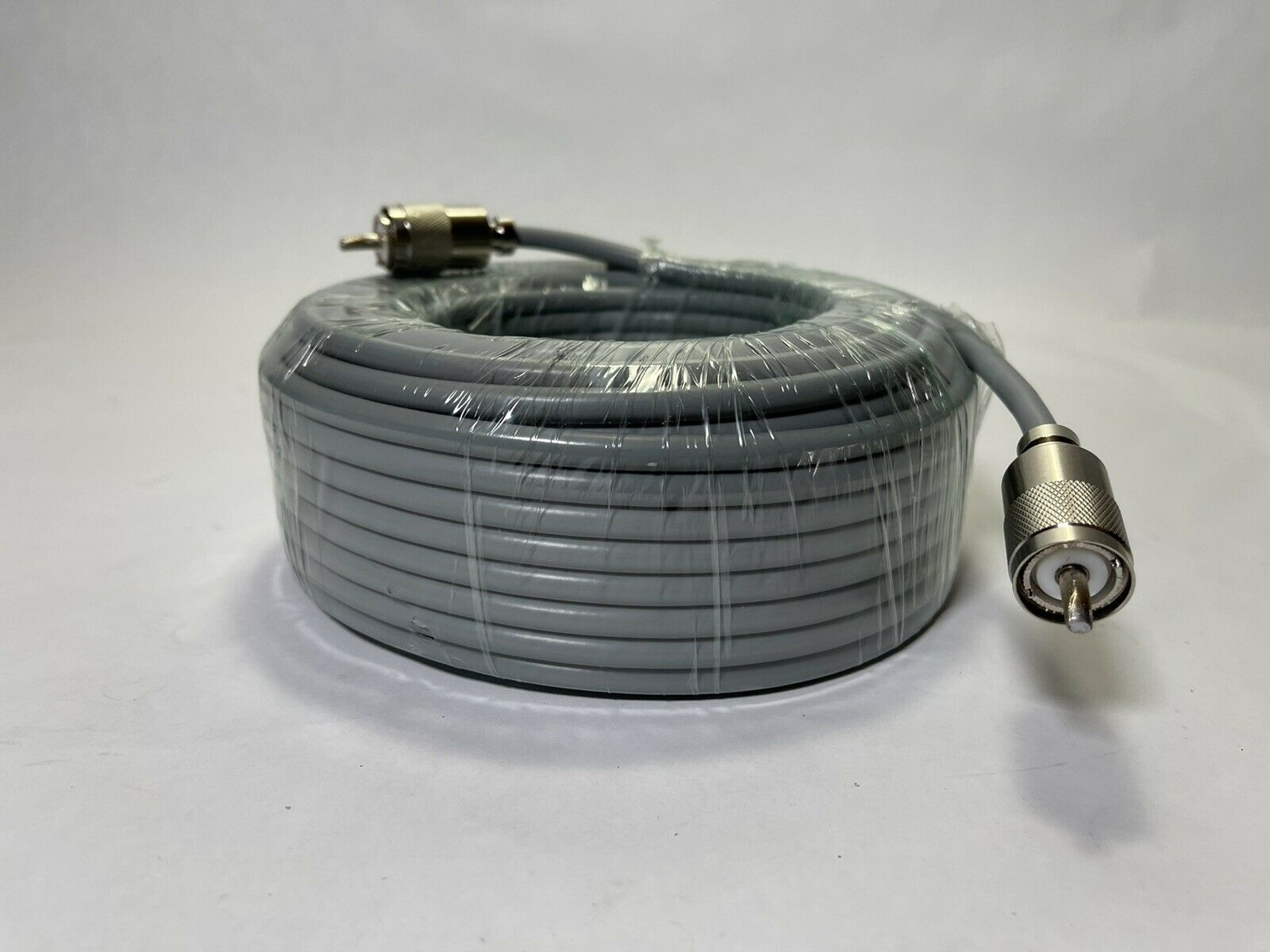 75FT RG-8x COAX COAXIAL CABLE LOW LOSS w/ MALE PL-259 CB HAM RADIO RG8 NEW!. Available Now for 42.95